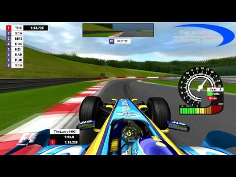 F1 2006 Season Trackpack | Xtra 1 - Spa Francorchamps, Belgium (2007 Layout)