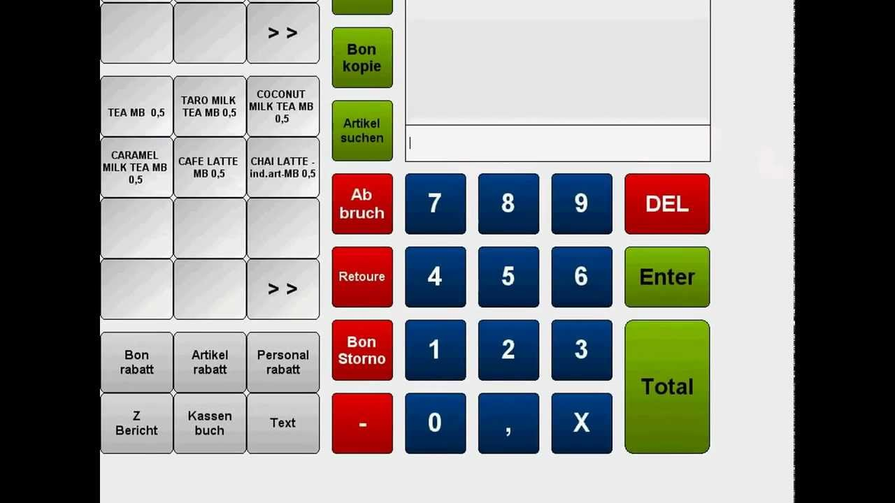 Pos Software Kassensystem Handel Profi Kasse F 252 R Den