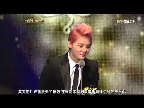 (西遊字幕)121030.KBS.The 18th Korean Musical Award - JunSu Version ( Chinese Subtitles )