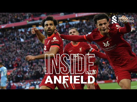 Inside Anfield: Liverpool 2-2 Man City | Capture the atmosphere of the Reds' thrilling draw