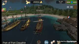 Pirates Caribbian hunt: Attacking French port