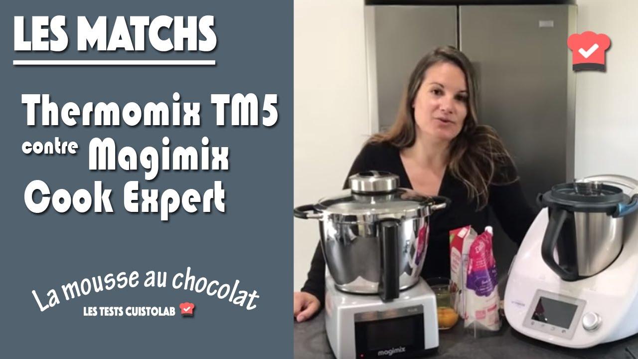 Thermomix Tm5 Contre Magimix Cook Expert Preparation D Une Mousse