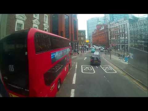 *ROUTE VISUAL* London Bus Route 21:  Newington Green - Lewisham, SHOPPING  CENTRE I LT865 (LTZ1865)