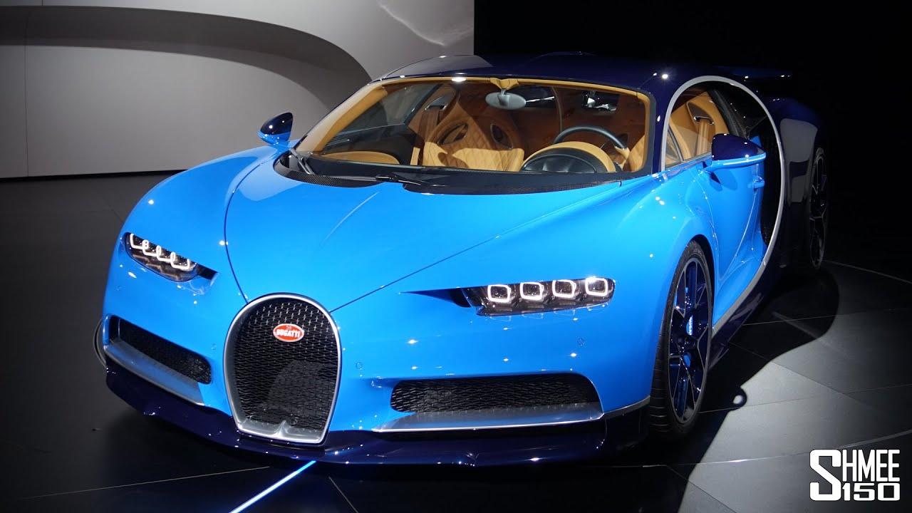 First Look Bugatti Chiron Full Tour At Geneva 2016