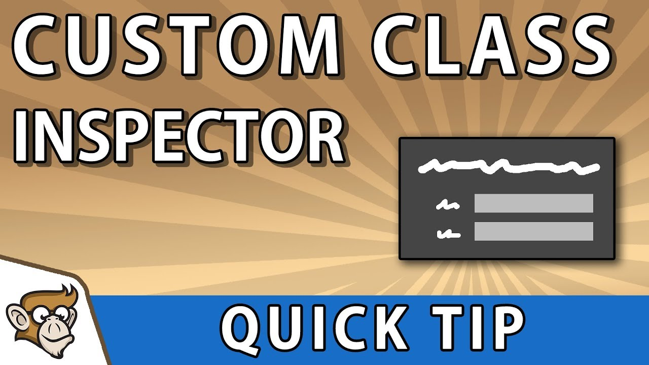 Quick Tip: View your Custom Classes in the Inspector (Unity Tutorial)