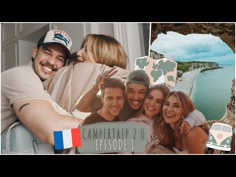 Camper Tour 2021 - Wiedersehen & Roadtrip quer durch Frankreich / Episode#1 / Lisa-Marie Schiffner