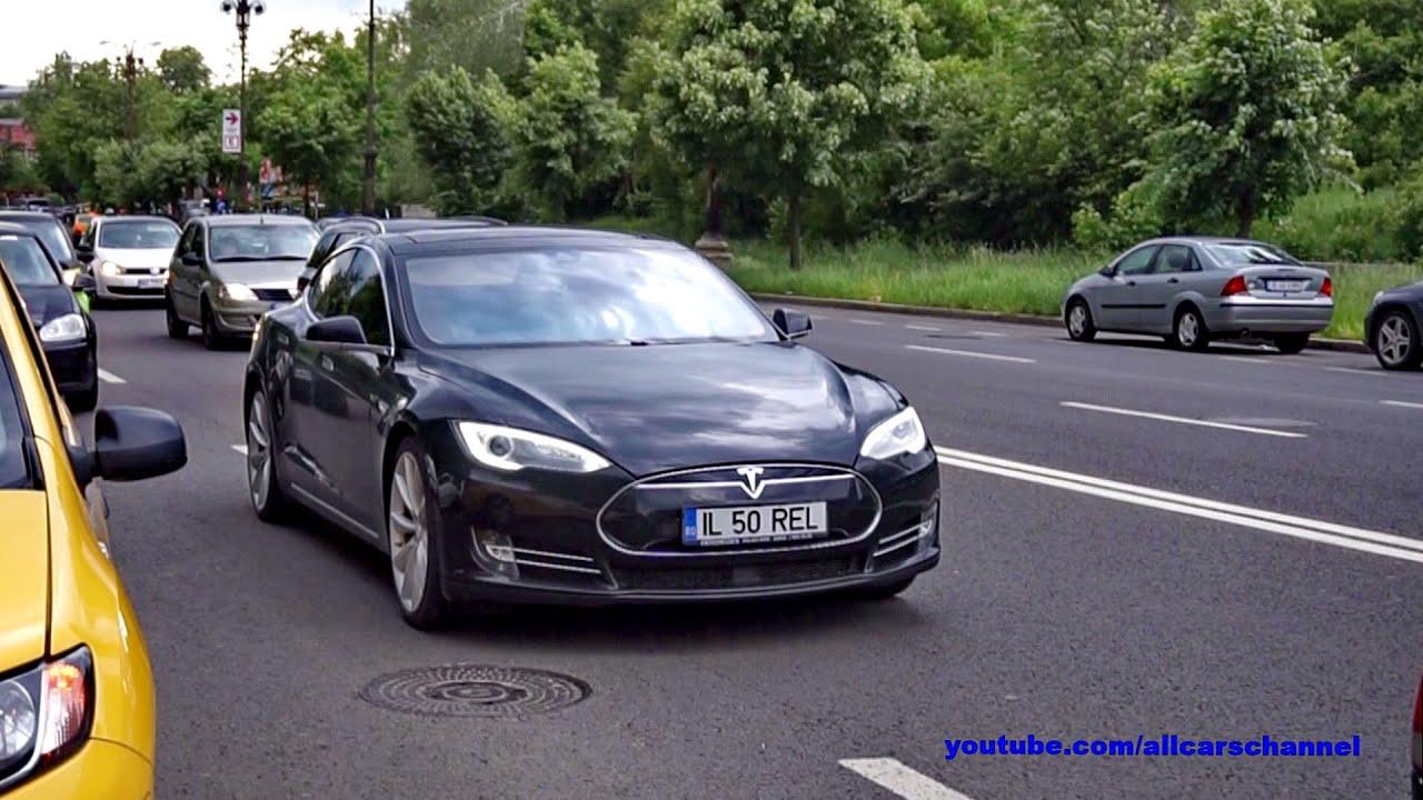 Tesla Model S P85D in Bucharest