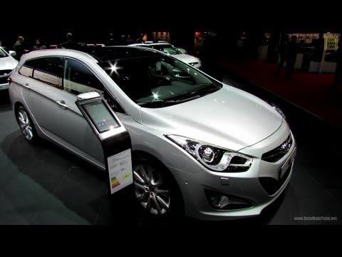 2013 Hyundai i40 CRDi Sport Wagon Exterior and Interior Walkaround 2012 Paris Auto Show