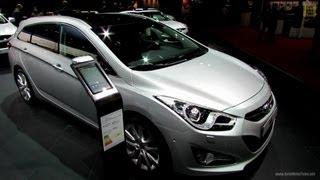 2013 Hyundai i40 CRDi Sport Wagon Exterior and Interior Walkaround 2012 Paris Auto Show