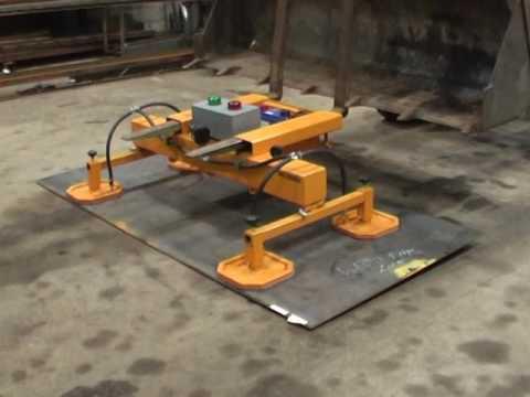 Vacuum Lift For Forklift Truck Youtube