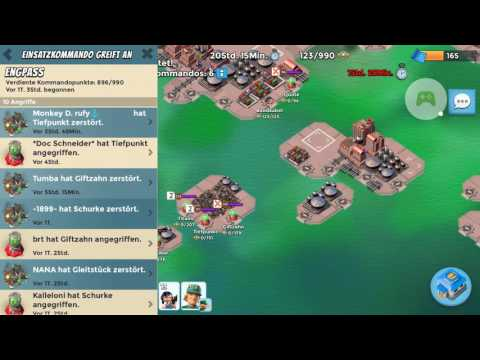 Boom Beach - Operation Choke Point - Fang - Final Attack with Everspark