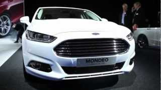 New Ford Mondeo at the Paris Motor Show