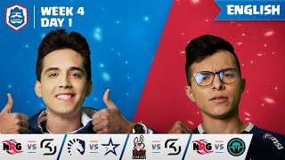 Clash Royale League: CRL West 2019 | Week 4 Day 1! (English)