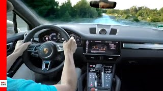 2020 Porsche Cayenne Turbo S E Hybrid on road and off road Lap