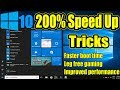 How To Speed Up Your Windows 10 Performance -  (New And Best Way)