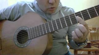 Уроки гитары.Колыбельная