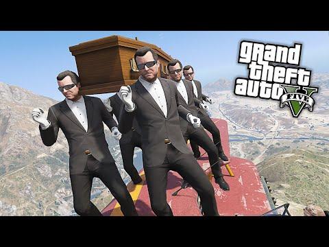 GTA 5 - Coffin Dance Meme Funny Fails Crazy Moments #2
