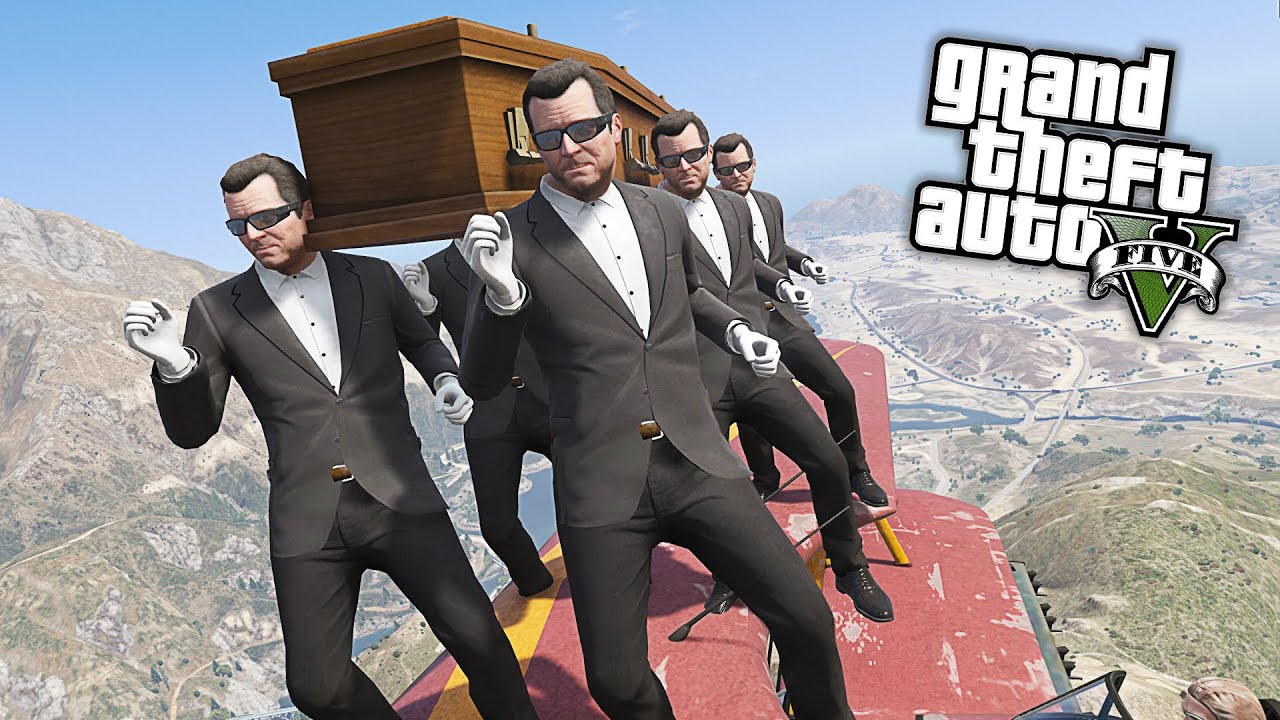 Gta 5 Coffin Dance Meme Funny Fails Crazy Moments 2 Youtube