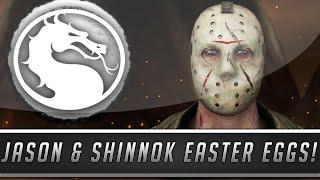 Mortal Kombat X: New Jason Voorhees & Shinnok Easter Eggs! - Deception/Armageddon References!