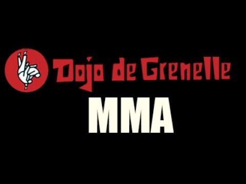 Cours de MMA au Dojo de Grenelle