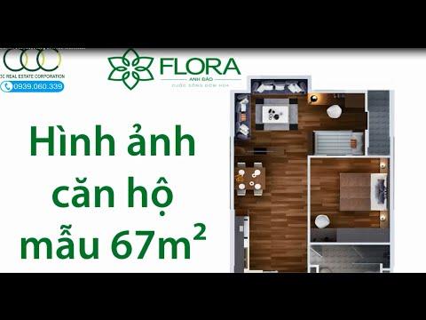 Flora Anh Đào✿ Cuộc sống đơm hoa✿ Căn hộ mẫu