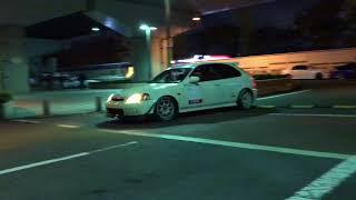FURIOUS NIGHT 東大阪PA シビック NSX