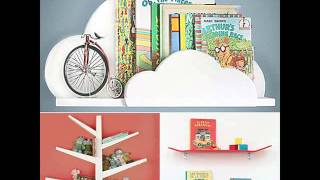Creative Bookshelves For Kids