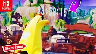 COUNTDOWN am Loot Lake! NEXUS EVENT kommt SAMSTAG | Fortnite Nintendo Switch Deutsch
