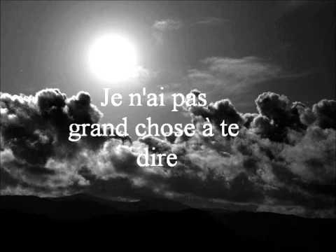 Indochine - J'ai demandé à la lune (lyrics)