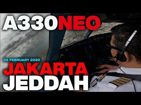 A330NEO JAKARTA - JEDDAH | UMROH FLIGHT 08 FEB 2020