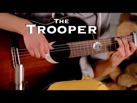 The Trooper [Iron Maiden] Acoustic - Classical Fingerstyle Guitar by Thomas Zwijsen - Ortega Guitars