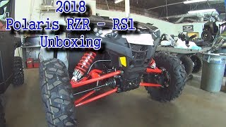 2018 RZR RS1 Rally   Polaris RZR Unboxing and First