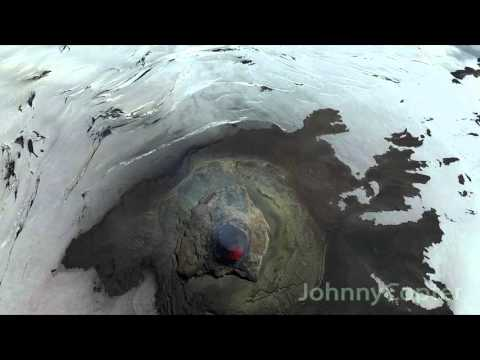 Volcano Villarica Drone Video - JohnnyCopter.com