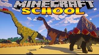Minecraft School : DINOSAUR JURASSIC PARK TRIP!