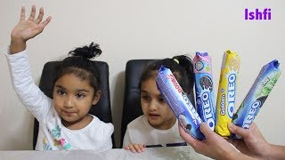 Toddler Learn Colors with Oreo Biscuit from Rufi Ishfi