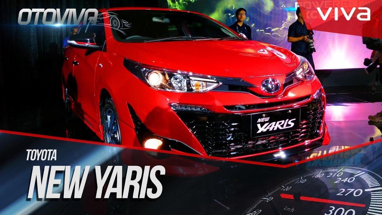 Begini Penampakan Toyota New Yaris 2018 YouTube