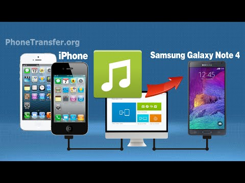 How to Copy Songs from iPhone to Galaxy Note 4 on Mac, Sync iPhone Music to Note 4 on Mac