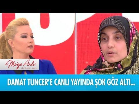 Damat Tuncer, polis tarafından stüdyoda gözaltına alındı - Müge Anlı ile Tatlı Sert 24  Aralık 2018