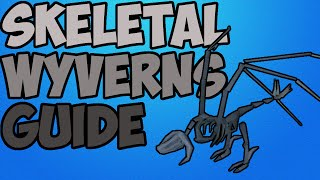 Oldschool Runescape - Skeletal Wyverns Money Making Guide | Range Safespot Guide
