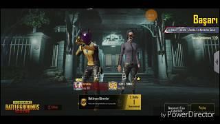 Pubg mobile bölüm 55 / zombi en karanlık gece modu oyunuyoruz 1.olduk