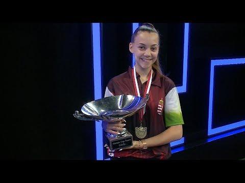 Kovács Tamara EB Győztes 2019.08.01.