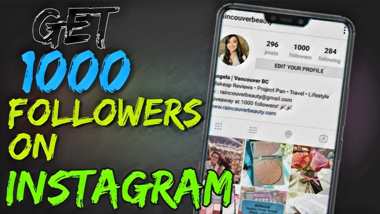How to get 1k free followers on Instagram without hack or any mod