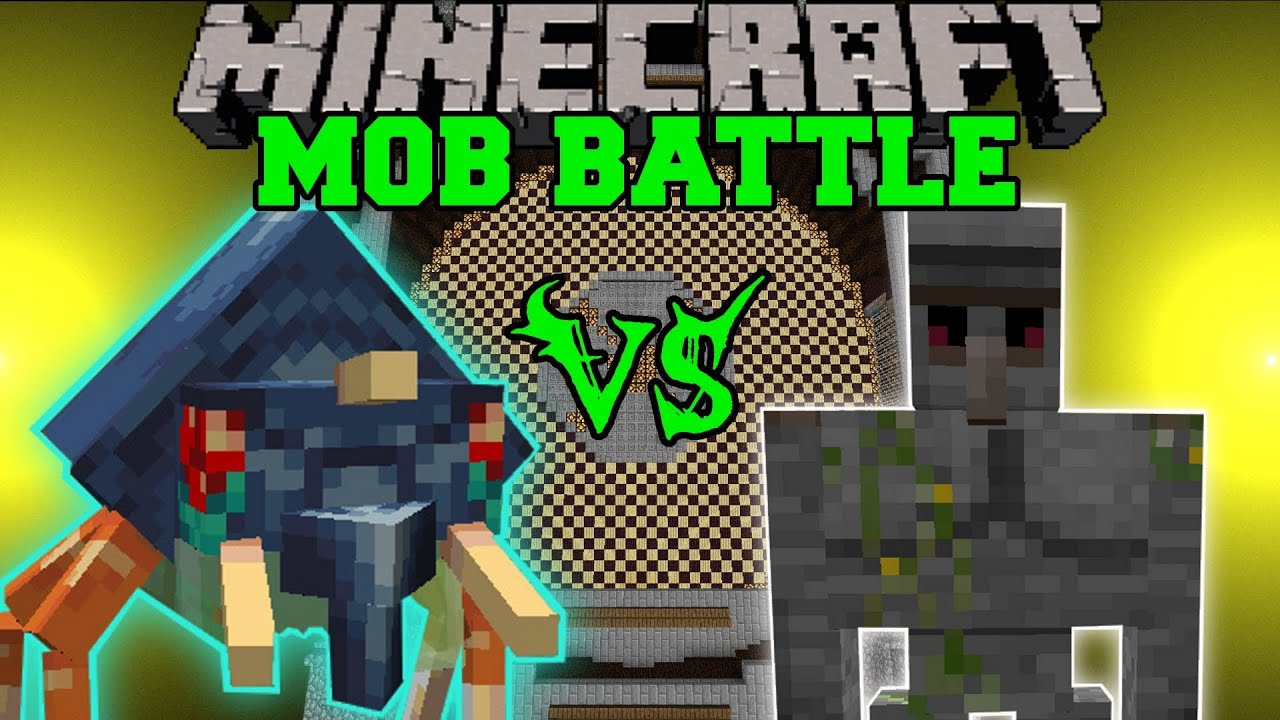 mind craft videos vs golem minecraft mob battles orespawn and 2439