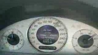 mercedes benz e 400 cdi w211 0 100 km h