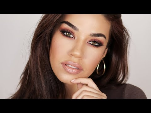 Hailey Baldwin Inspired Smokey Eye | Eman