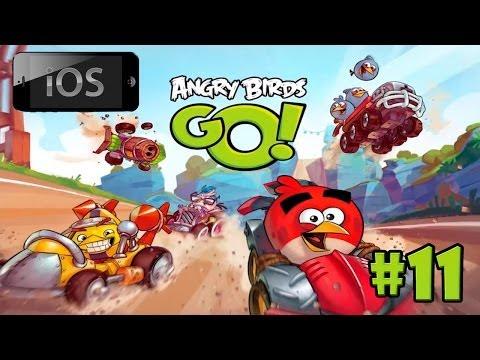[iOS] Angry Birds Go! прохождение [#11] - Птички и свиньи научились летать