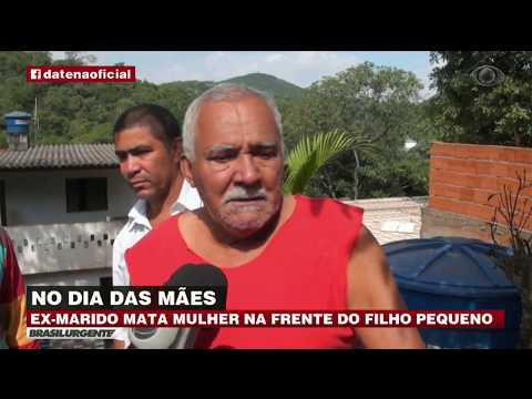 Ex-marido Mata Mulher Na Frente Do Filho Na Grande SP