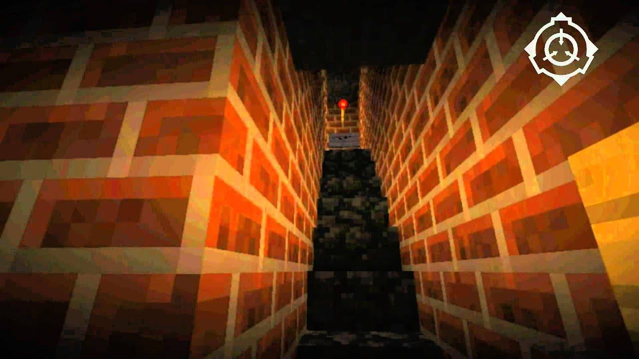 SCP-087-B: Minecraft Style