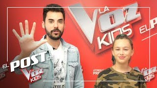 Top 5 of the first Knockouts with The Carameluchi Family | The Voice Kids Post Antena 3 2019