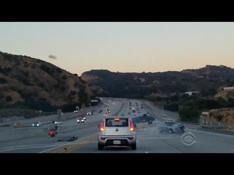 Road rage witness speaks out about crash on Calif. freeway